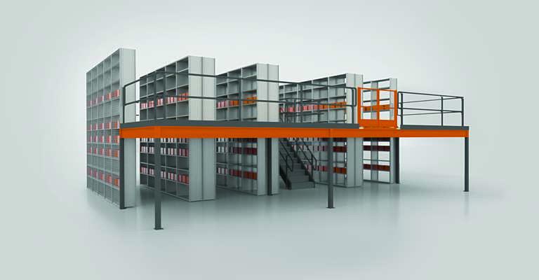 scaffalature-industriali_multipiano